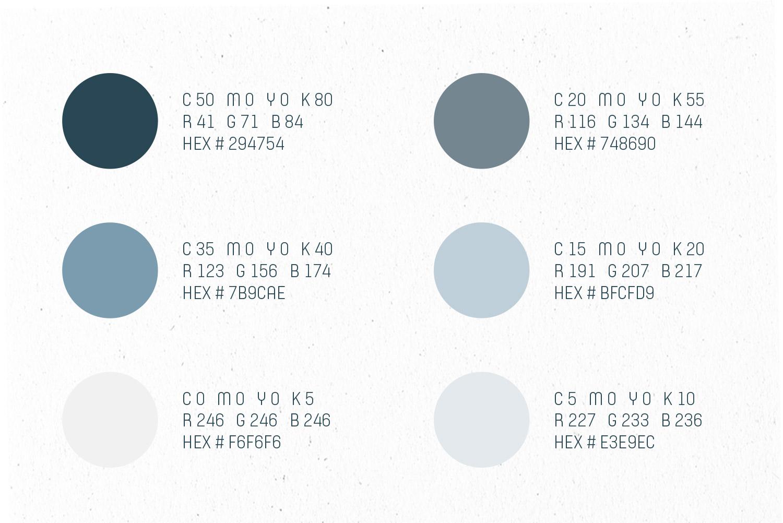 GPU Design color palette
